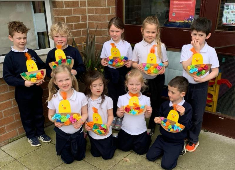 Happy Easter from Primary Two!