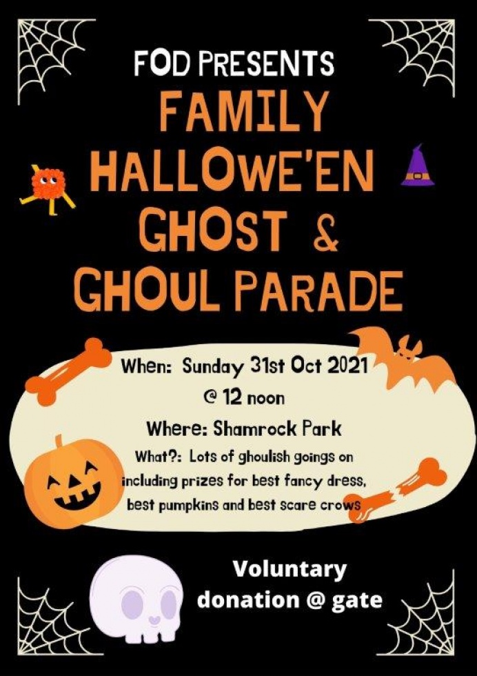 Halloween Ghost & Ghoul Parade