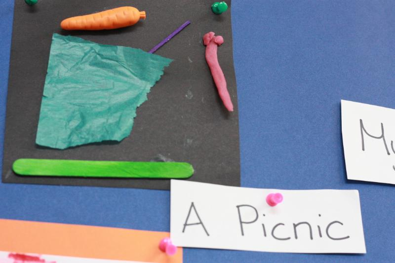 Lets go on a picnic outside in the school gardens!