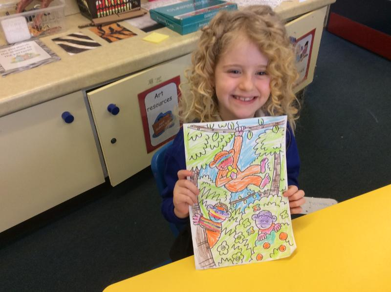 Relaxing colouring