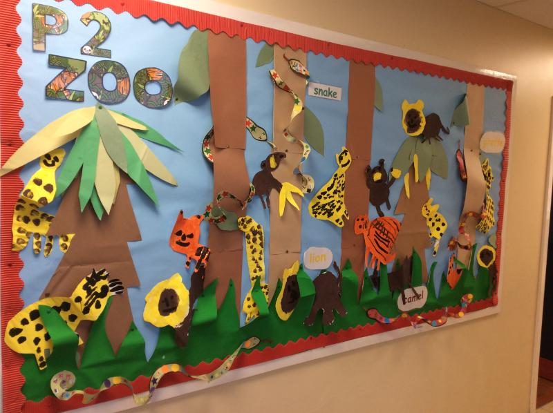 Our P.2 zoo.