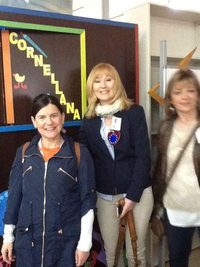 Miss McGleenon and the Polish teachers