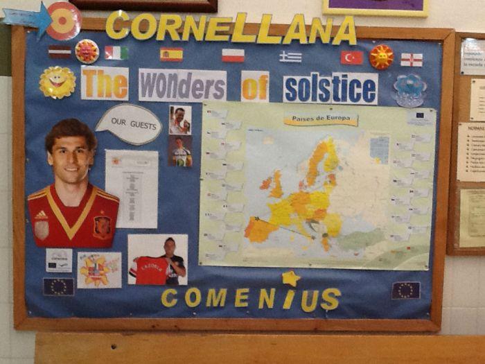 Visit to Cornellana Primary School