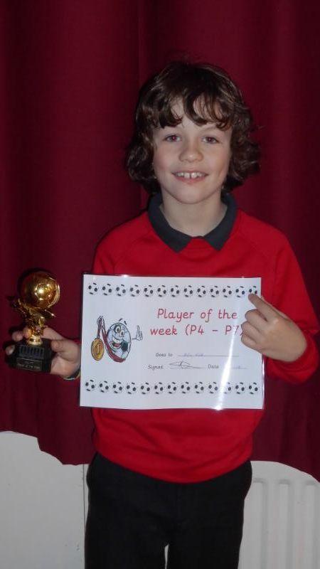 Footballer of the Week P4-P7