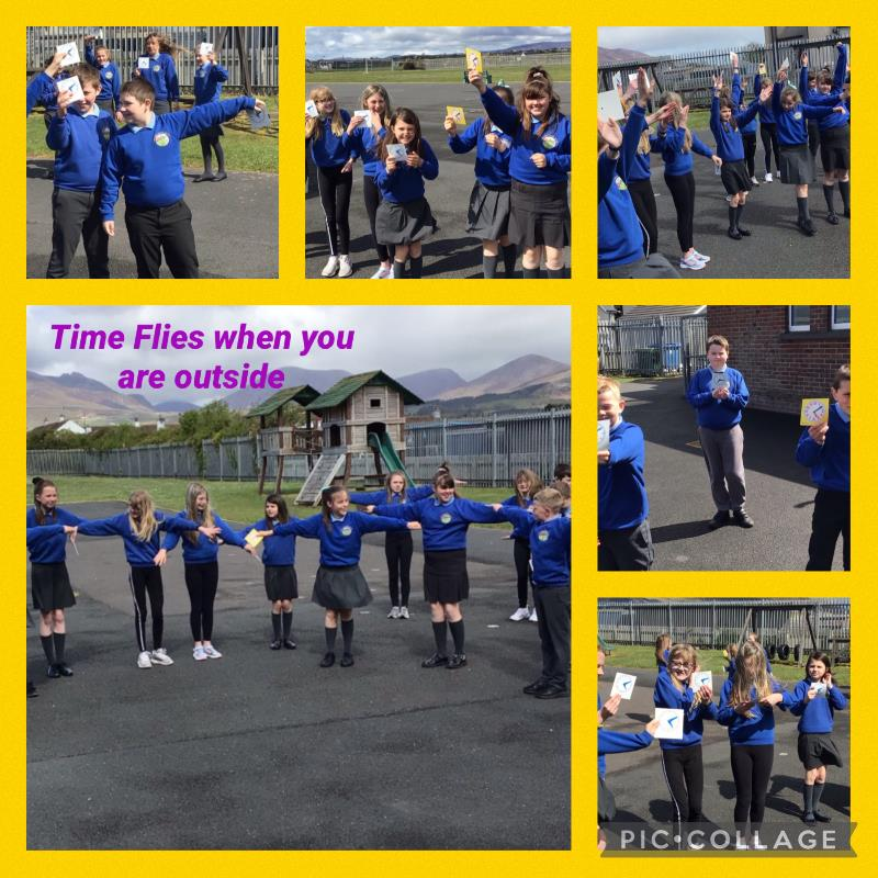 P6/7 Measured Time through outdoor activities.