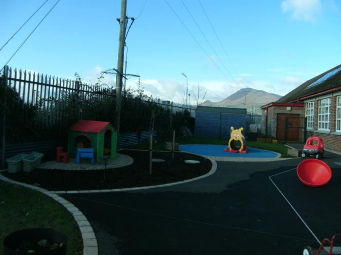 Nursery outdoor play area
