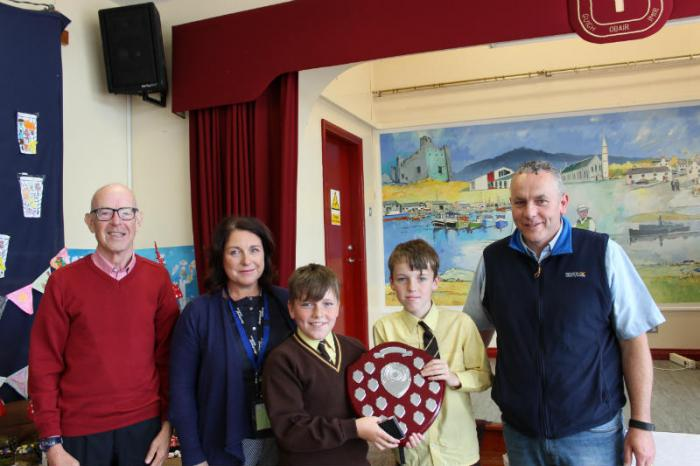 Vincent Trainor Shield - Principal's Award - Luke and Shea Rafferty