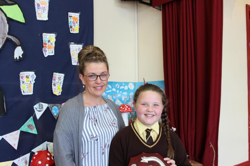 Principal's Award - Contribution to school life - Shannon