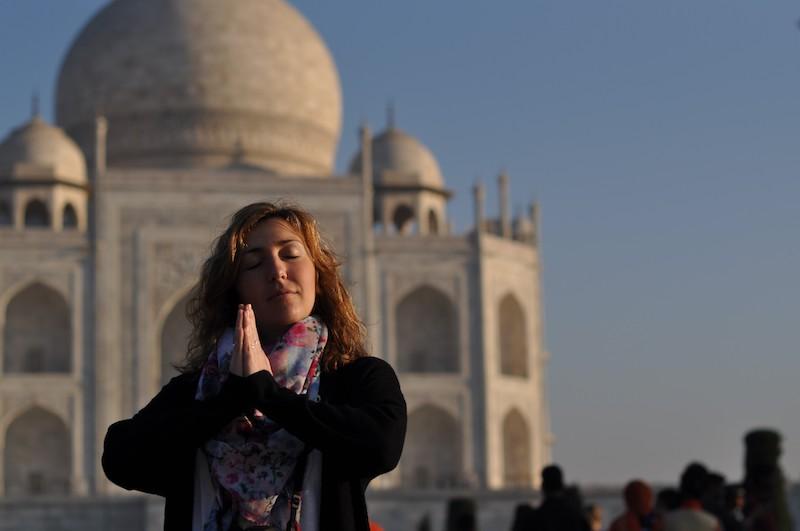 Visitar el Taj Mahal - Taj Mahal relax