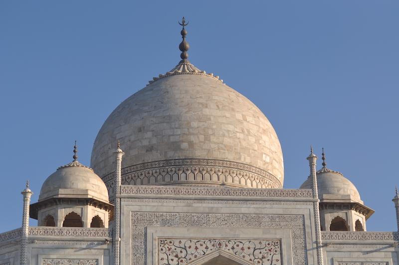Visitar el Taj Mahal - Cúpula Taj Mahal