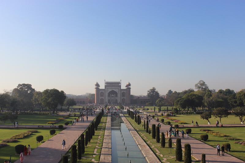 Visitar el Taj Mahal - Entrada Taj Mahal