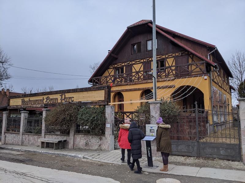 restaurantes rumanos - restaurante en bran