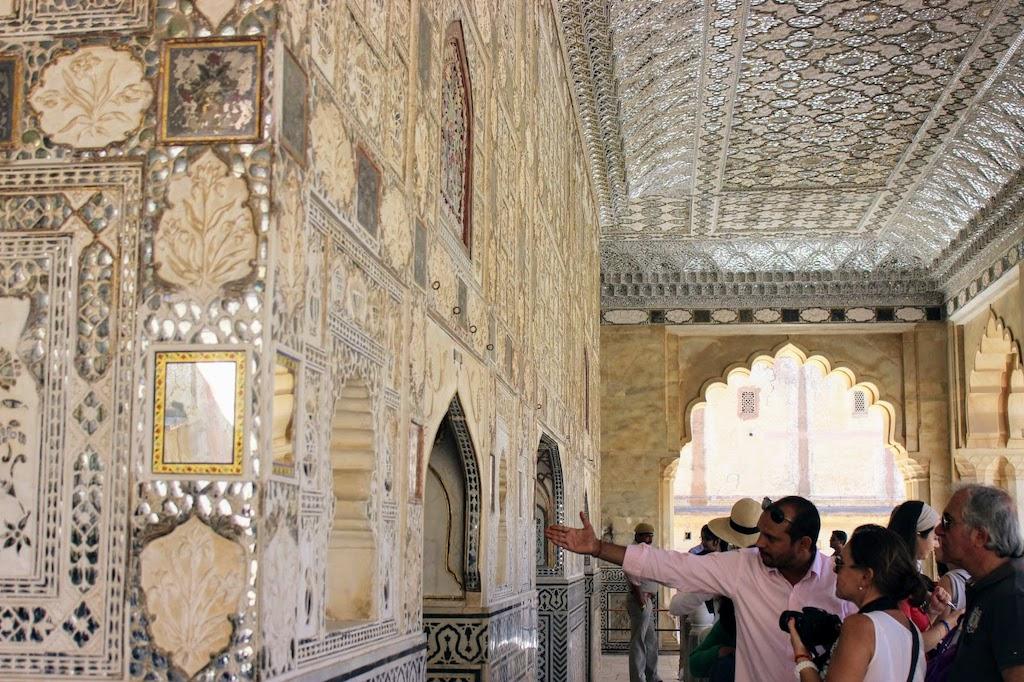 viajar a Jaipur - sala de los espejos