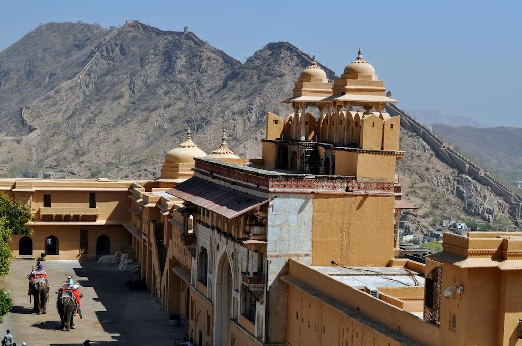 viajar a Jaipur - elefantes