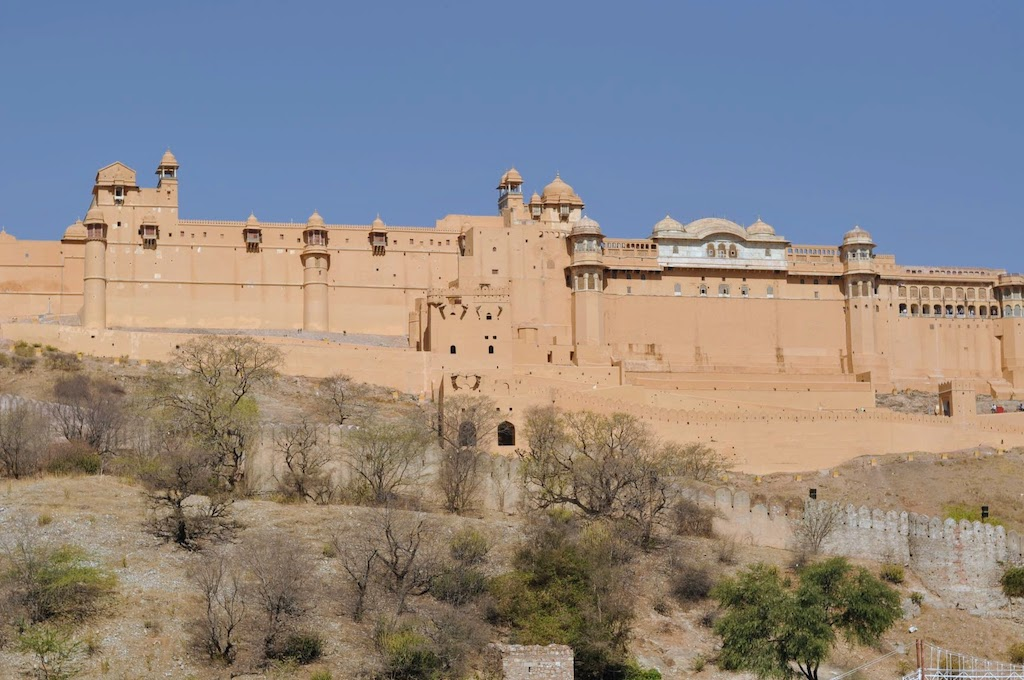 viajar a Jaipur - fuerte de Amber