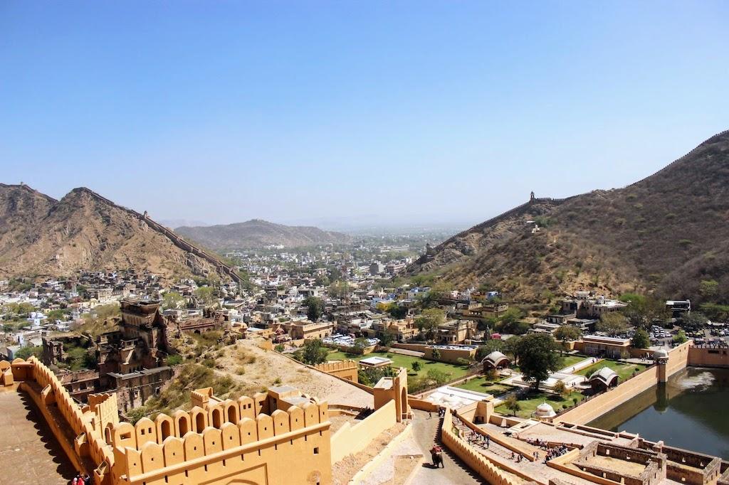 viajar a Jaipur - fuerte amber