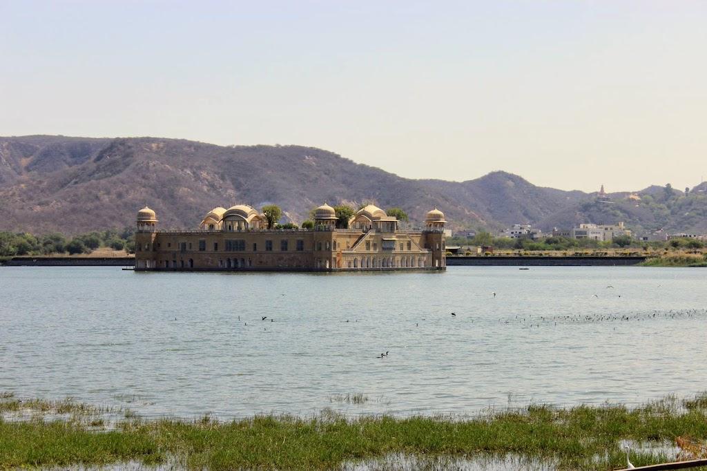 viajar a Jaipur - palacio del agua