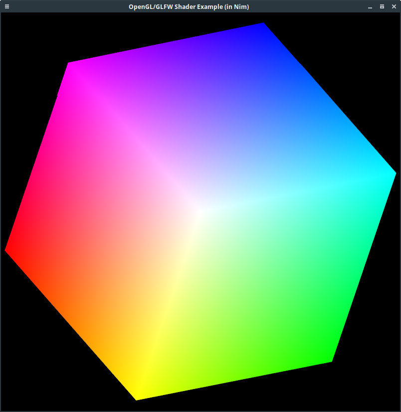 OpenGL Shader Example in Nim