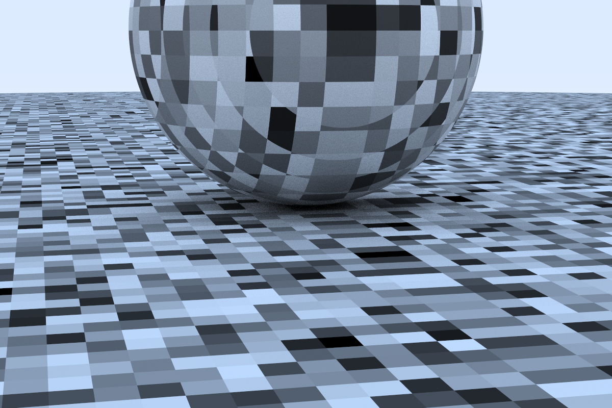 A Perlin Noise Render.