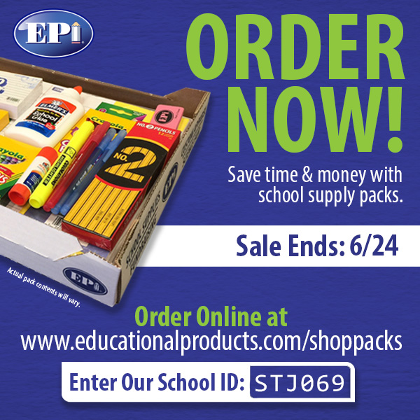 Pre-packaged School Supplies Available NOW
