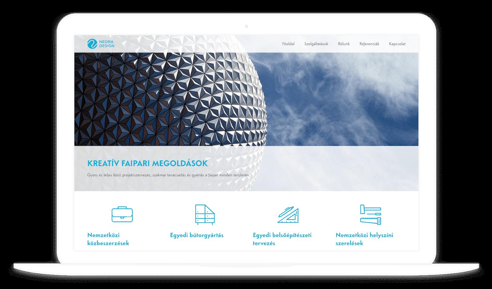 Nedra Design desktop verzió