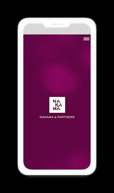 Nakama & Partners mobil verzió