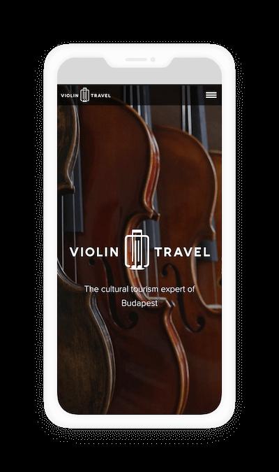 Violin Travel mobil verzió
