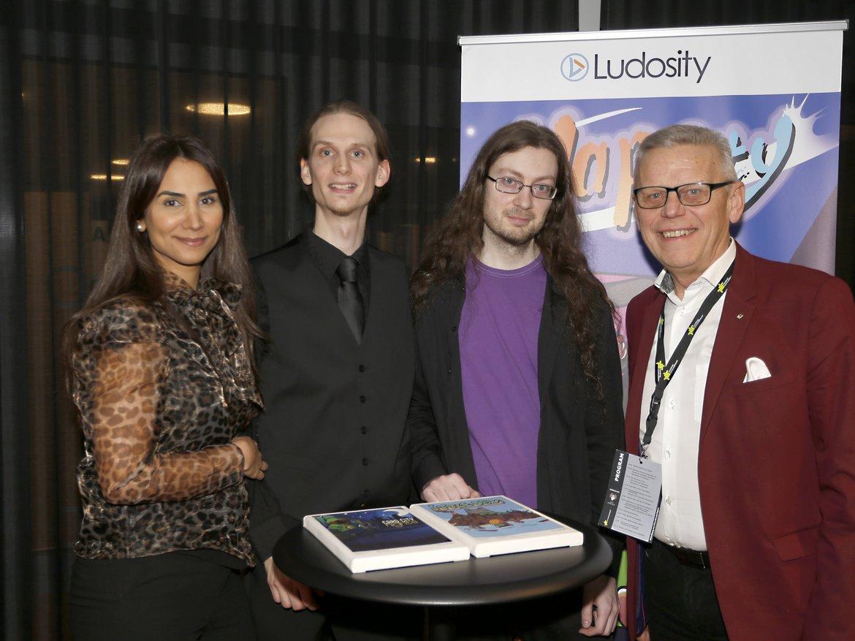 Ludosity tar emot pris som årets tillväxtbolag i Skaraborg 2019