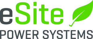 eSite Power Systems logo leaf