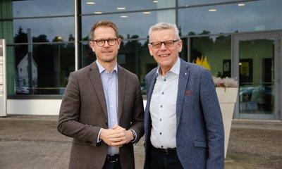 Byte av vd – Per Skånberg och Carl Henrik Ohlson