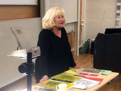 Akademiledamoten Barbro Lennér-Axelsson