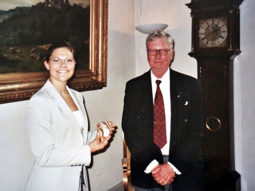 Hedersskaraborgaren år 2003 kronprinsessan Victoria