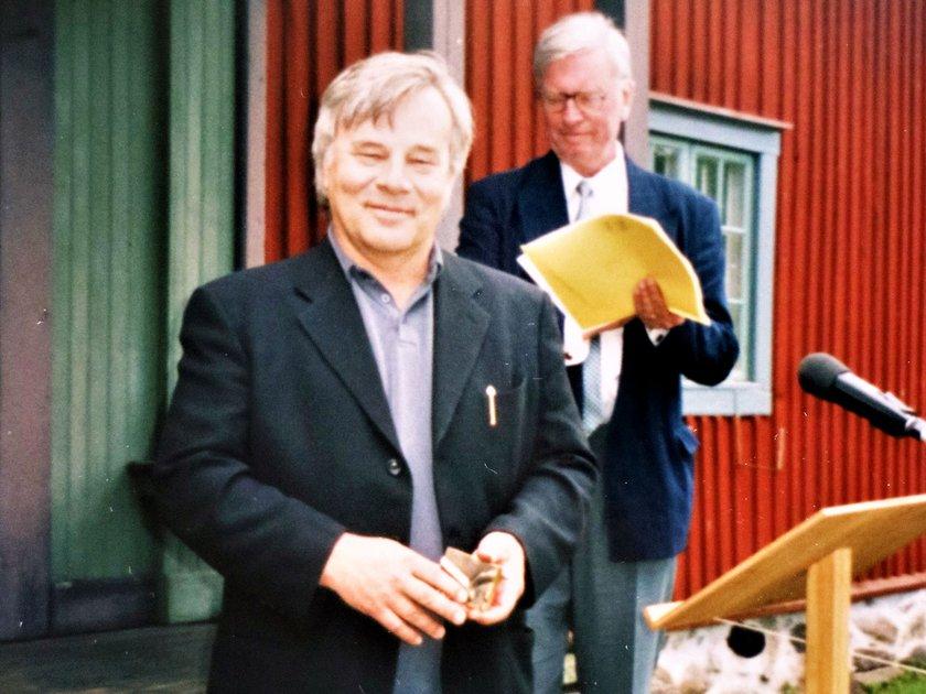 Hedersskaraborgaren år 2000 Jan Guillou