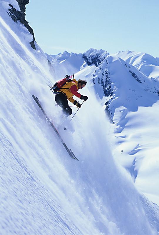 Doug Coombs-skiing in Valdez, Alaska
