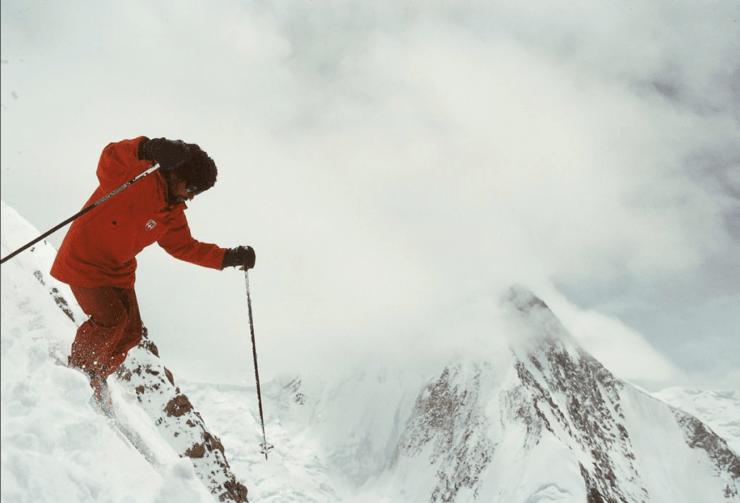 Sylvain Saudan - extreme skiing