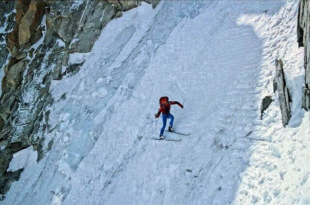Stefano De Benedetti- extreme steep skier