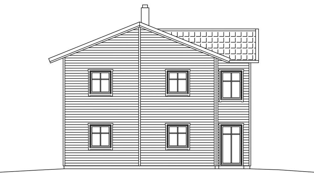 Villa Agder – fasad gavel
