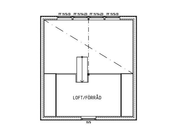 Villa Arnholm - Fritidshus loft