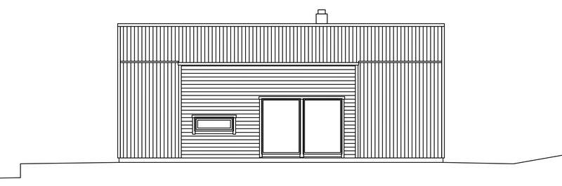 Villa Birgersson – fasad gavel