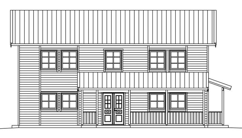 Villa Dahlstrand – fasad entré