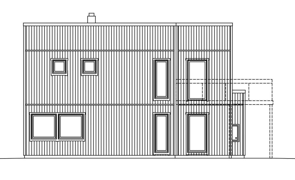 Villa Elofsson – fasad