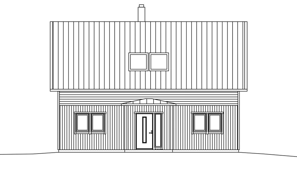 Villa Hansson – fasad