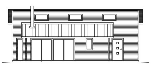 Villa Hjort - Fritidshus fasad 1 v2