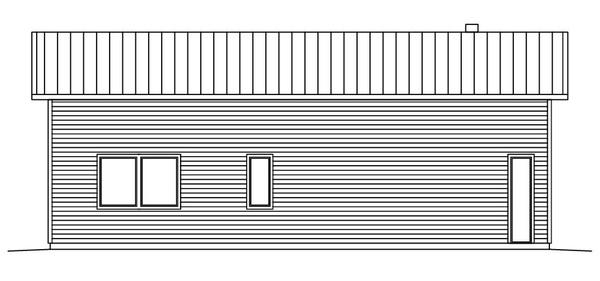 Villa Hjort - Fritidshus fasad 2