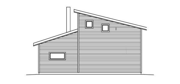 Villa Hjort - Fritidshus fasad 3