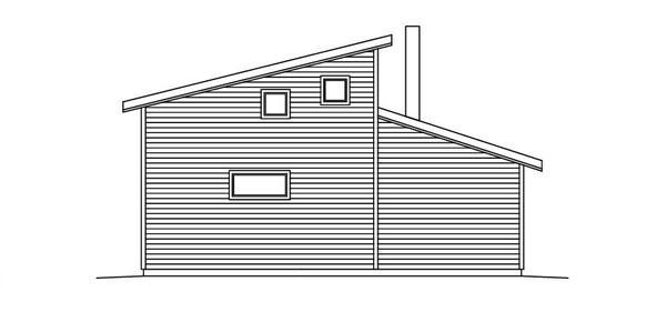 Villa Hjort - Fritidshus fasad 4