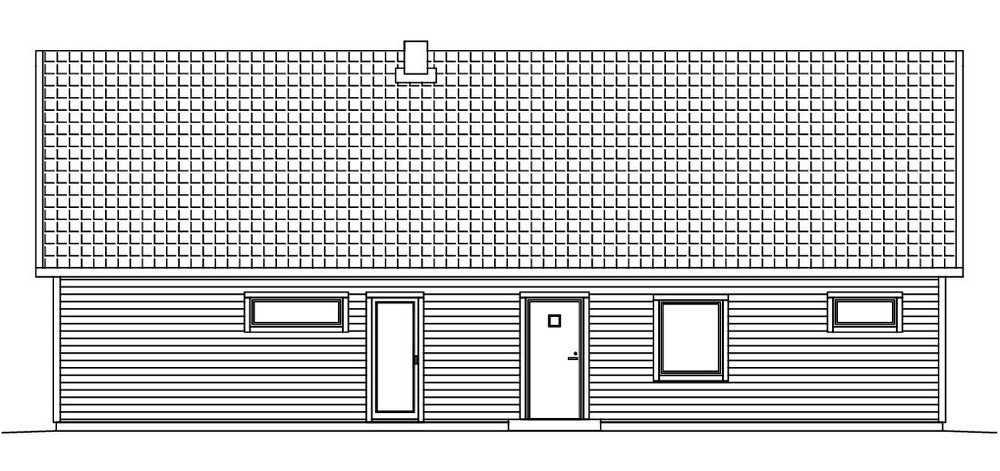 Villa Blixt fasad 2