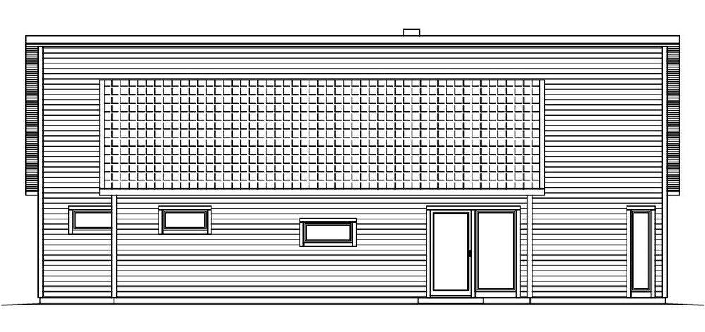 Villa Blixt fasad 4