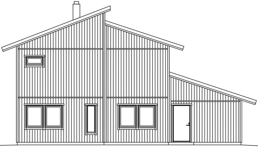 Villa Häggholm – fasad groventré