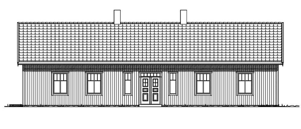 Villa Ivarsson fasad 1
